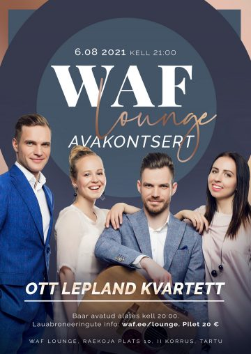 6.08 Ott Lepland kvartett